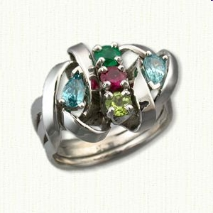 Custom mothers jewelry mothers day gifts quality jewelry mothers rings aloadofball Images