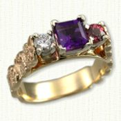 Custom Personalized Mother's Ring